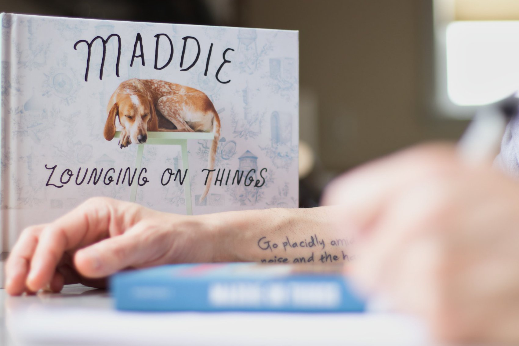 Letter to Theron and Maddie ©Jacob Clayton