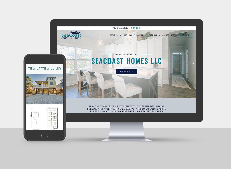 SeaCoast Homes Website