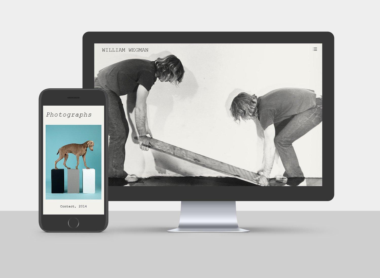 William Wegman Website